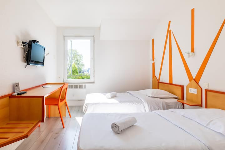 Chambre twin - East Hotel