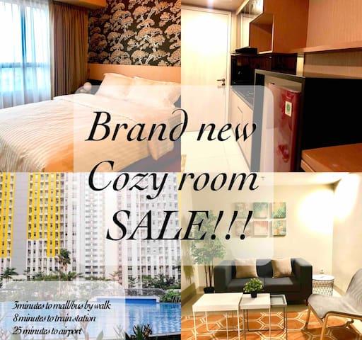 Brand new apartment summarecon bekasi near jakarta