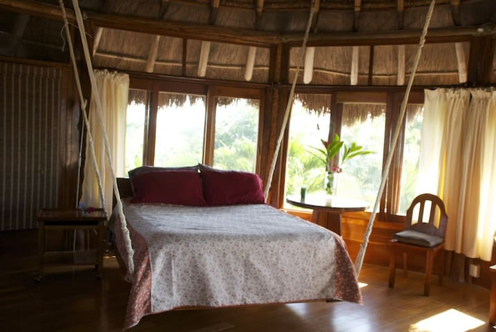 Bali Style Penthouse Jacuzzi - town - Bacalar - Apartment