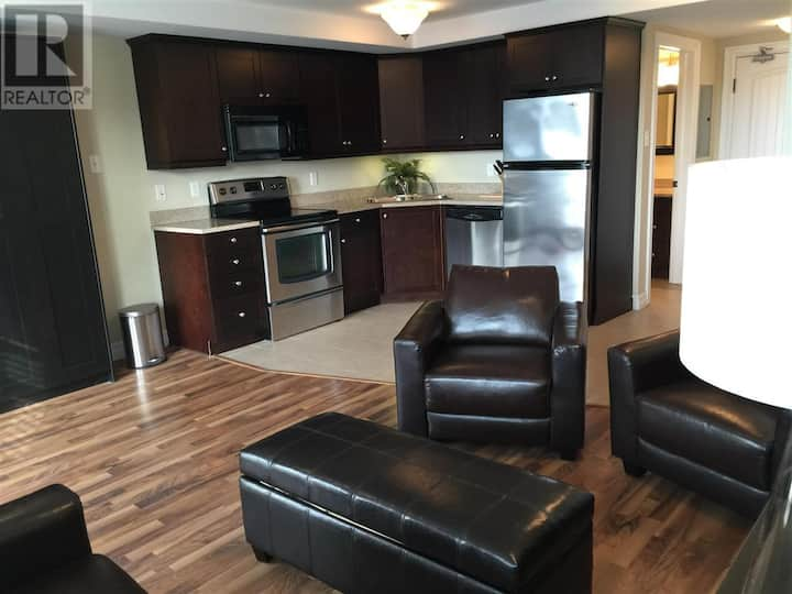 Executive studio apartment downtown