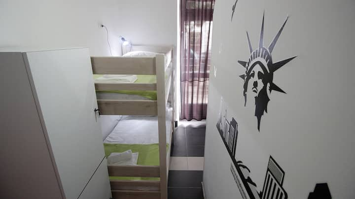 Four bed room in hostel Like Me