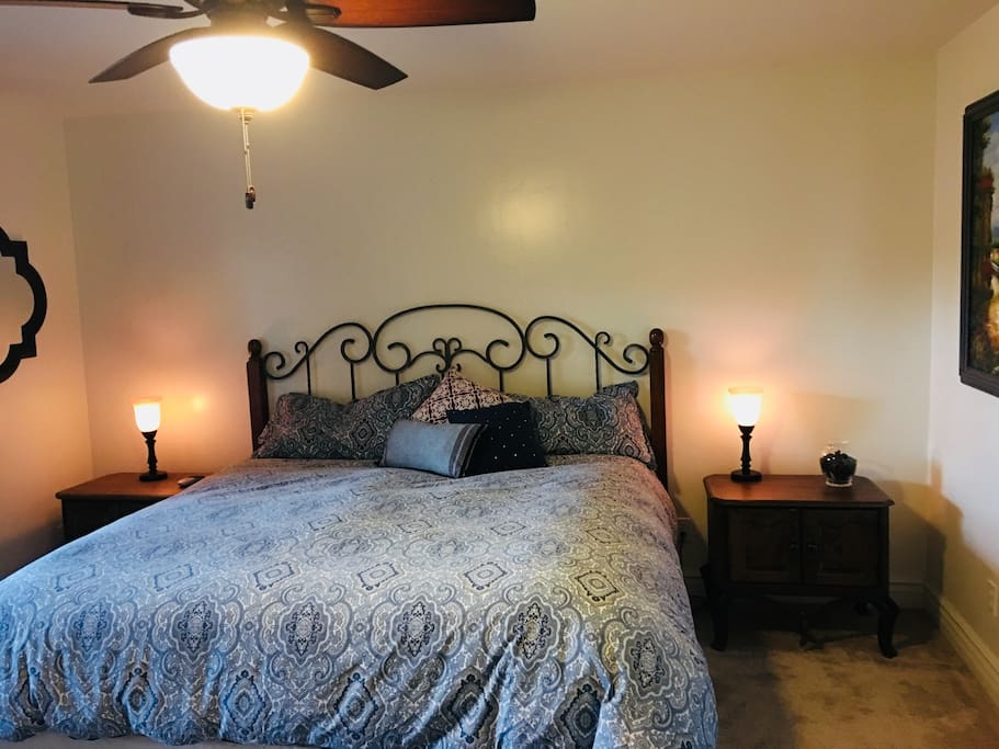 Ceiling fan and Touch Lamps