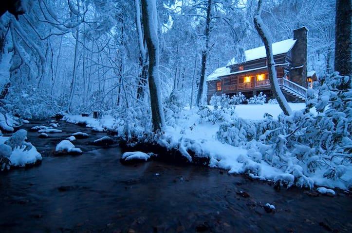 Sleepy Creek -Antique Log Cabin Near Boone/Parkway