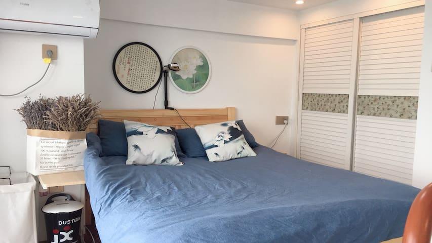 龙鼎万达—运河湖畔,loft公寓。