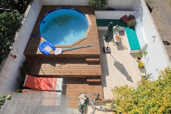 Townhouse in Soller with a plunge pool