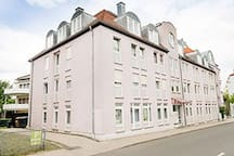 Sweet little appartment right in Bayreuth city