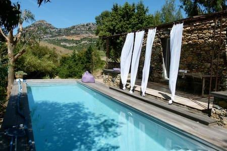Bergerie Brietta, heated pool, in the vineyards - Poggio-d'Oletta - Hus