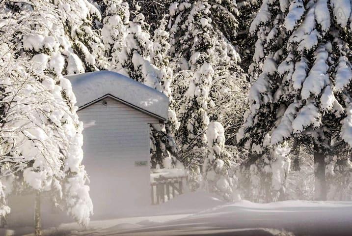 Refuge l'hiver
