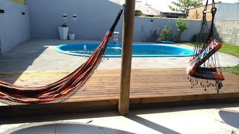 Casa da Vó Zoé - casa com piscina