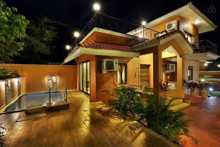 2 BHK Villa with a Private Pool, Fully Staffed