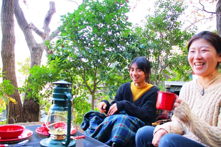 【鎌倉スピリチュアルグランピング・ドラゴンノーズ】鎌倉の森でステイ。龍の左目で瞑想がおすすめ。