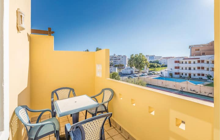Holiday apartment with 1 bedroom on 55m² in Roquetas de Mar