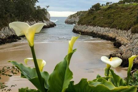 El Cuetu del Sella. Playa de Guadamia. Llanes