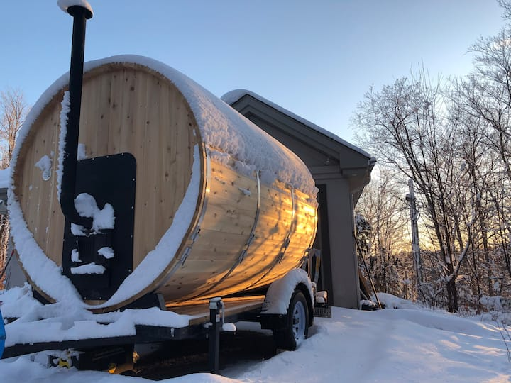 Mobile Sauna/Banya Mont-Tremblant/Laurentides