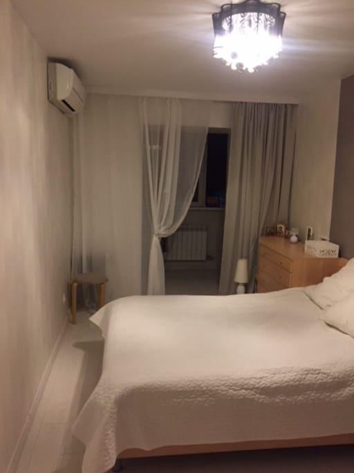 Спальня с кондиционером