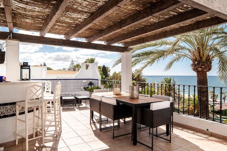 NumberOne Marbellmar -Front Line Golden Mile House - Marbella - House