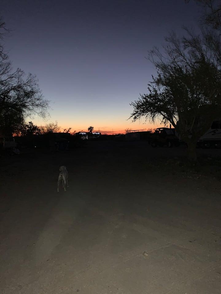Desert Isolation campsite.bring your RV