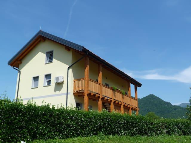 HišaŠmihelka -Apartament with mountain view-mali