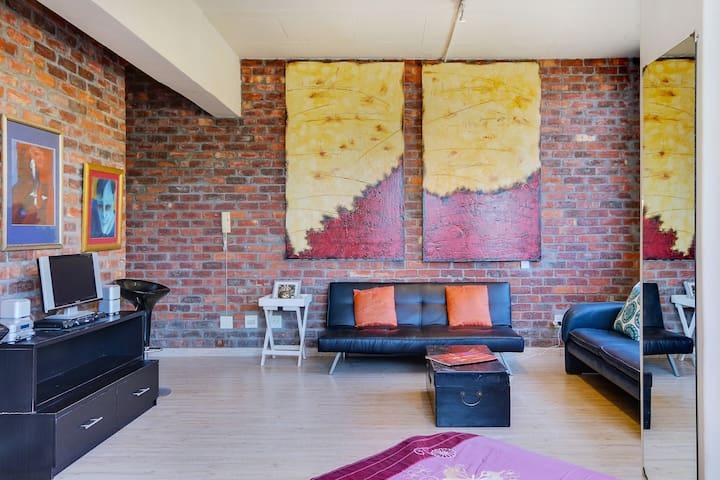 Central City ArtDeco Loft - Le Cap - Appartement