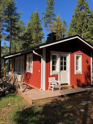 Sörrebo Cottage with sauna