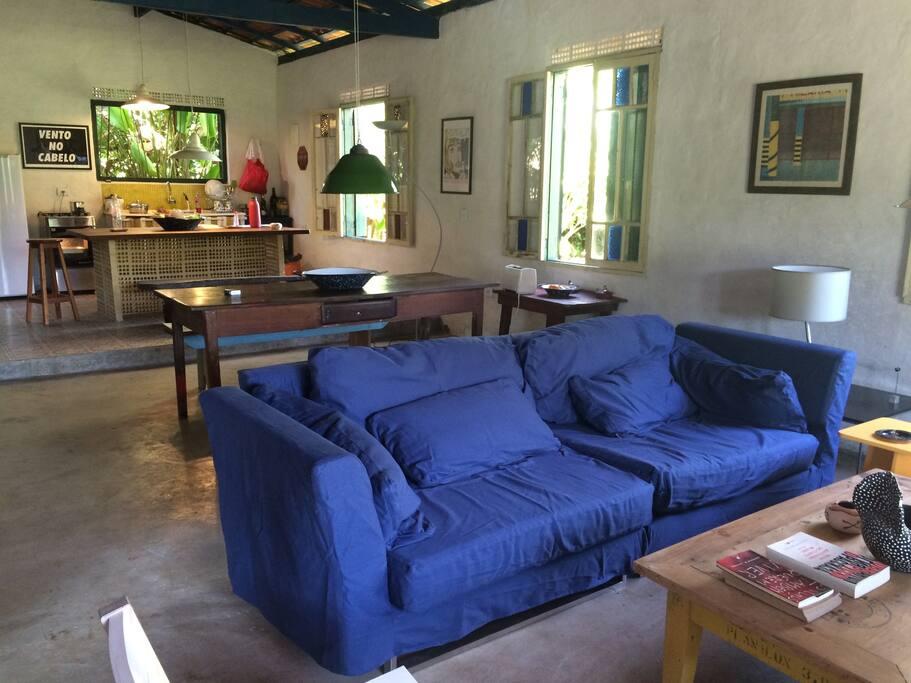 sofás super confortáveis