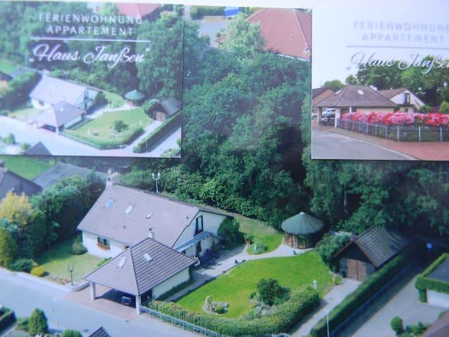 Haus Janßen Ferienwohnung - Großenkneten - Apartamento
