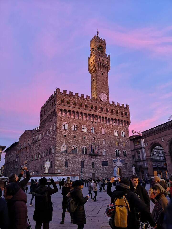 P.zza della Signoria - Palazzo Vecchio