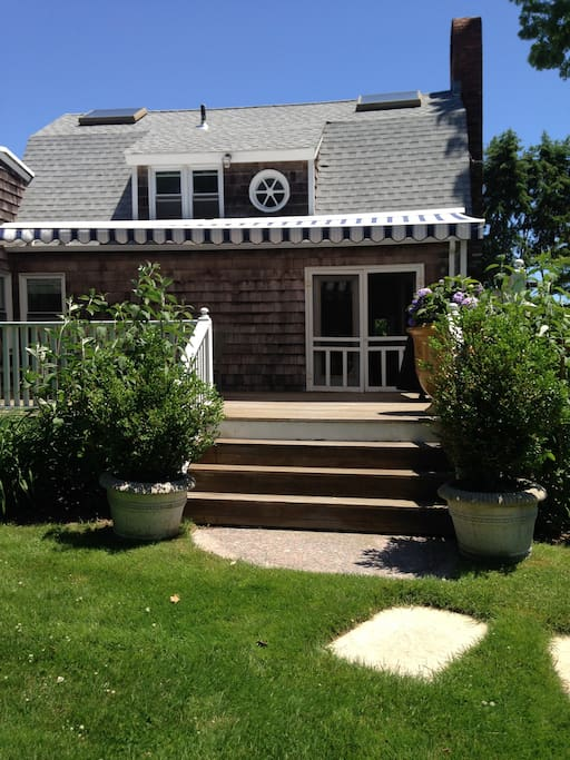 10'X12' Side Porch with Awning