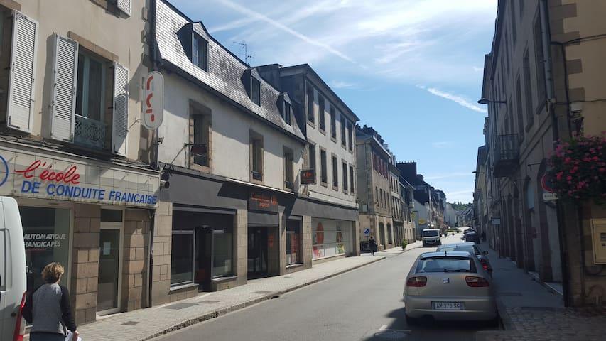 Duplex avec terrasse centre ville