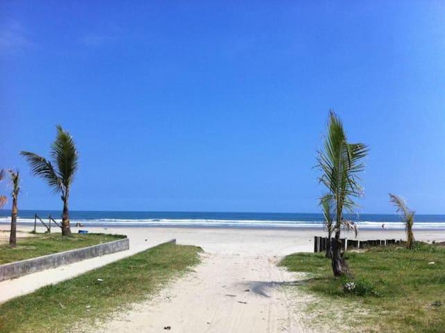 Suíte a 30 metros da praia (n6) - Bertioga - Inap sarapan