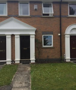 Within walking distance of city. Private parking