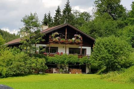 Großzügige,ruhige Ferienwohnung im Grünen