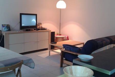 Appartement 60m² avec terrasse centre Alsace - Erstein - Wohnung