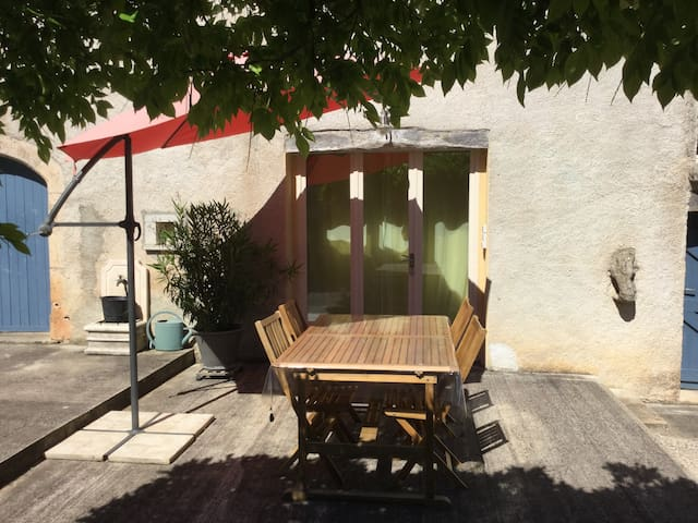 la maison bleue appartement 4 pers - Limogne-en-Quercy - Apartment