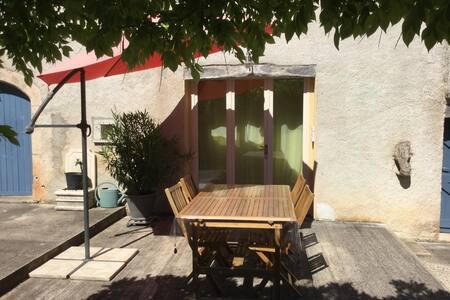 la maison bleue appartement 4 pers - Limogne-en-Quercy - Apartment