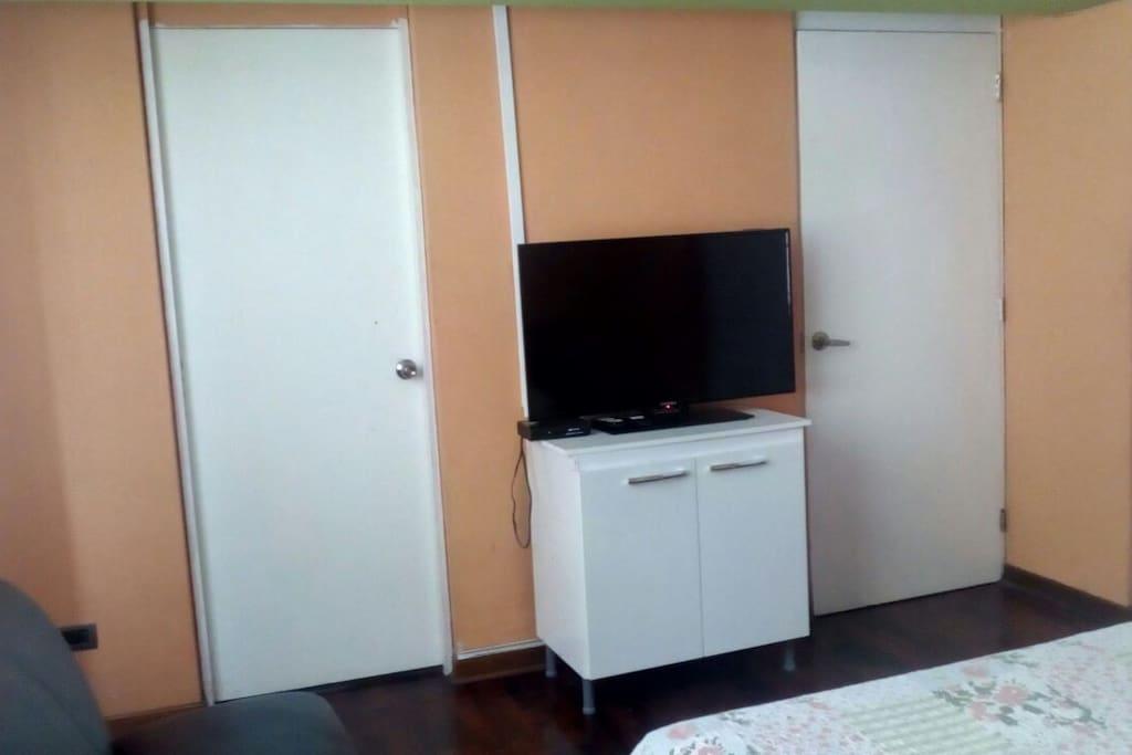 Habitacion con Tv