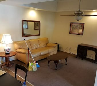 2BR 1BATH apartment near lake and mill +discounts