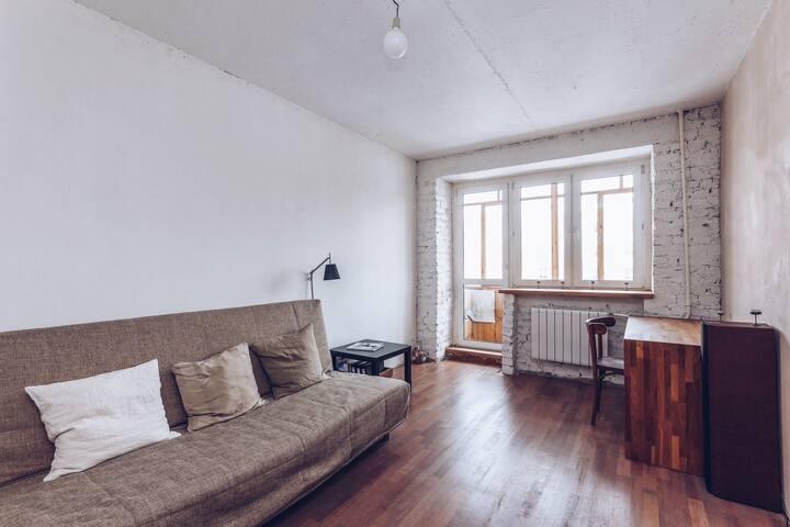 комната в стиле лофт - Jekaterinburg - Loft