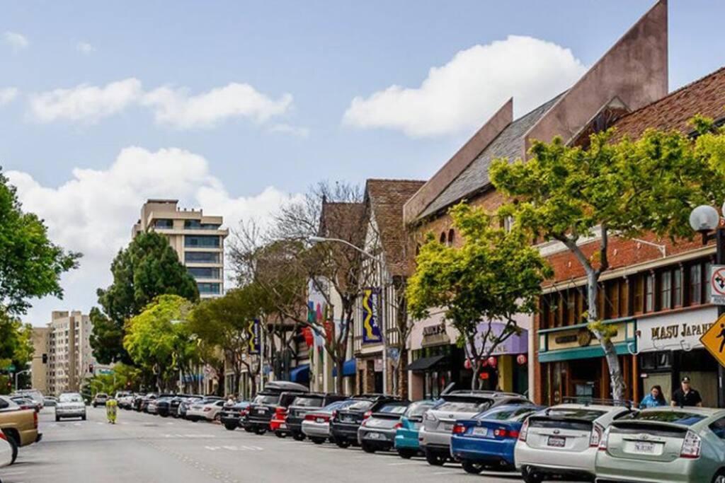 Downtown San Mateo