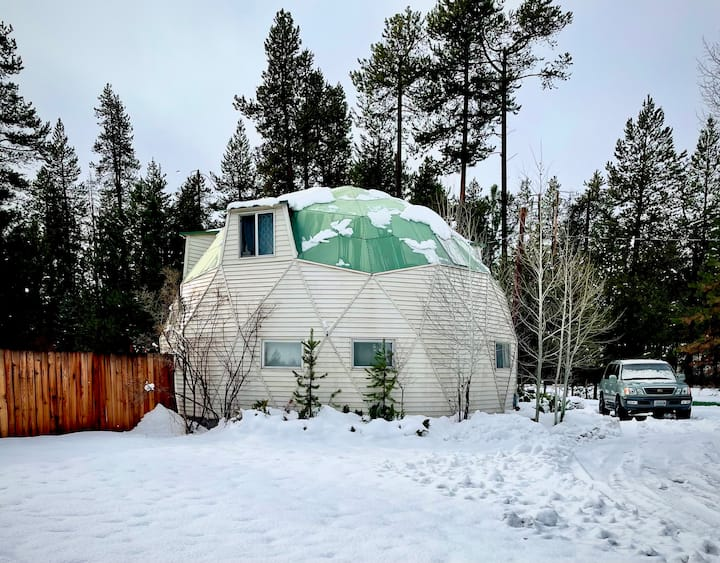 Great Dome in the trees in Central Oregon