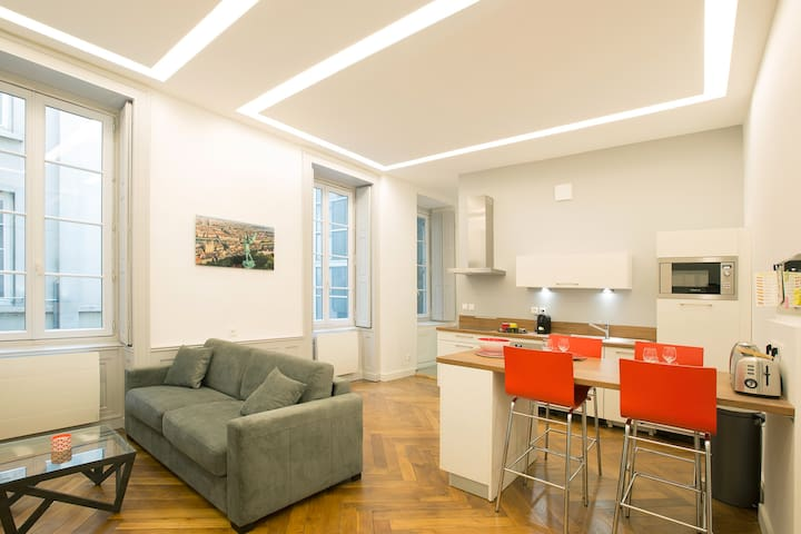 Trendy apartment in the heart of Lyon 2nd