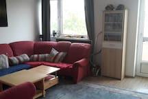 Couch für Wohnungssuchende