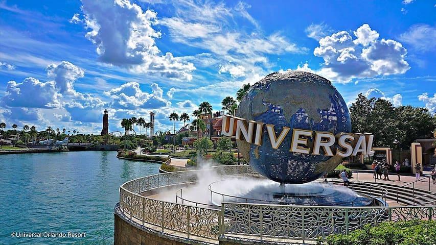 Luxury Private apt next to Universal Studios.