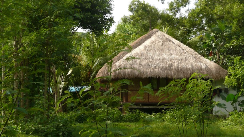 Country Villa Lombok (1 bedroom) in 9000sqm garden - Pujut - Dům