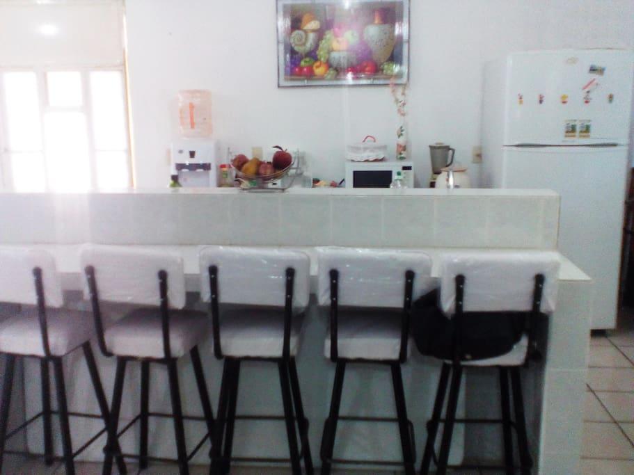 barra de cocina