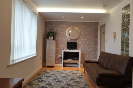 Luxury 1 bedroom flat in London free parking
