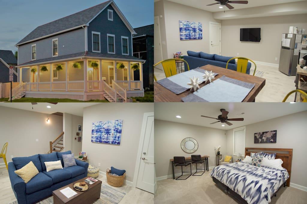 Private 1 Bedroom Short North Suite Apartment Apartments For Rent In Columbus Ohio United States