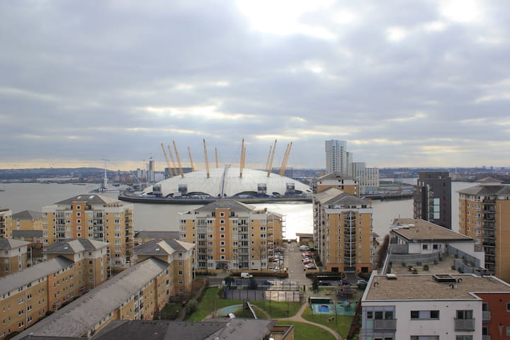 Beautiful Apartment perfect O2 view & ExCeL London - London - Apartmen
