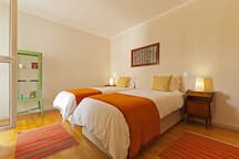 Room 2 - 2 Single Beds with AC