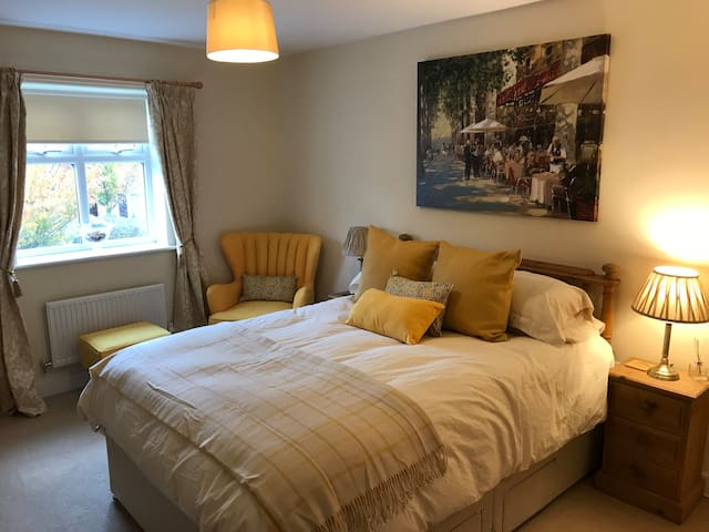 Comfortable large room with en-suite shower.